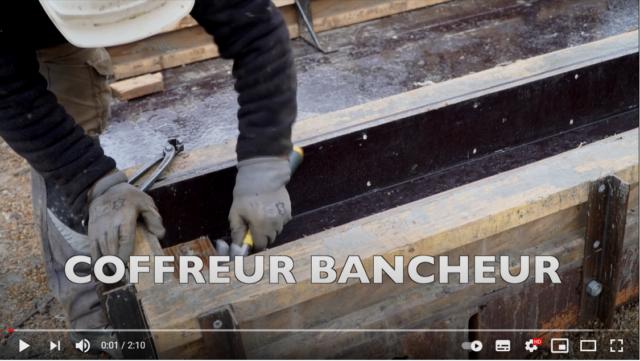 Photo de la vidéo sur le métier de coffreur blancheur.